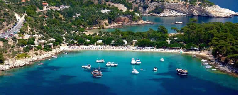 Aliki Plajı - Thassos