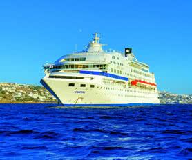 Cristal cruise yunan adalari