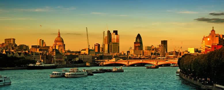 Günbatımı Manzarası - Londra