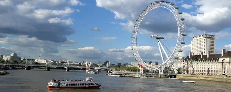 London eye dönmedolabı londra