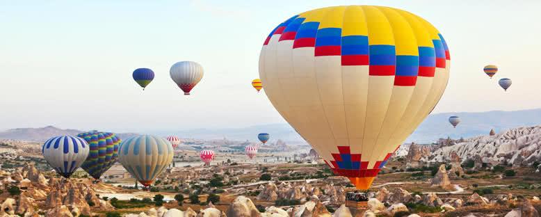 Peribacalarının Üzerinde Balon Gezisi - Kapadokya