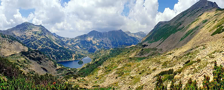 Pirin Dağı Yaz Manzarası - Bansko