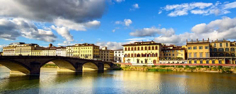 Ponte alla Carraia Köprüsü - Floransa