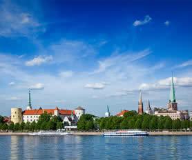 Riga manzarası