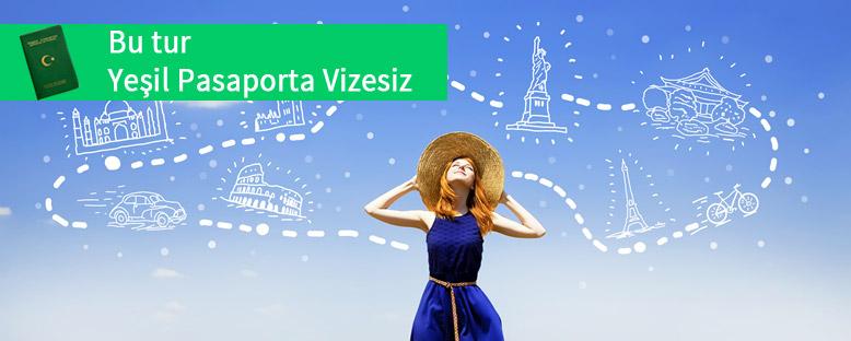Bu Turda Yeşil Pasaporta Vize Yok