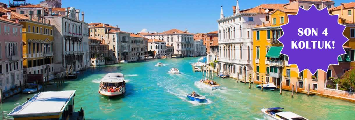 Bayramda İtalya İçin Son Yerler!