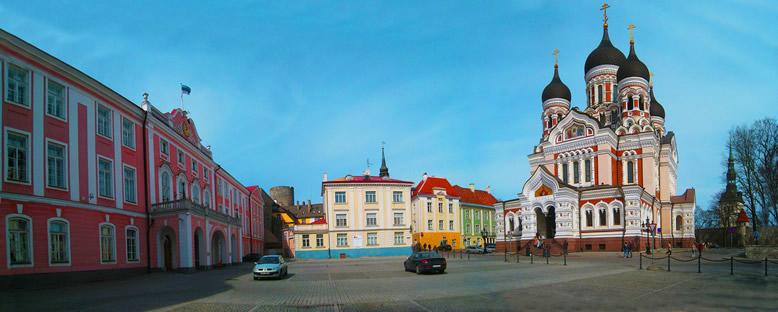Alexander Nevski Katedrali ve Meydanı - Tallinn