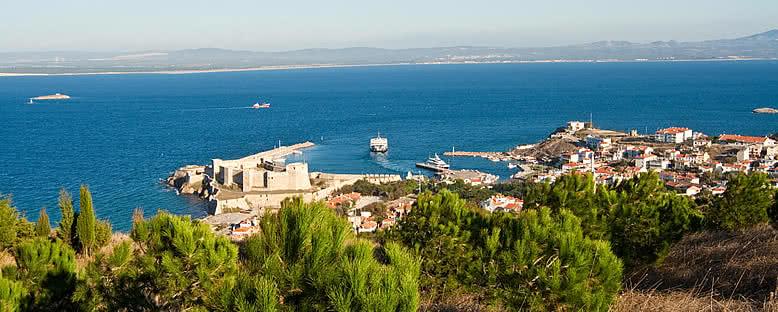 Kıyı Manzarası - Bozcaada