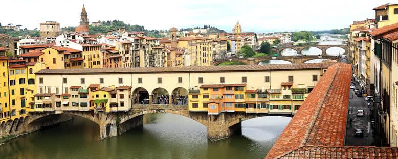 Tarihi Ponte Vecchio - Floransa