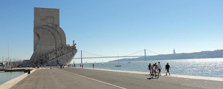 Keşifler Anıtı ve Sahil Yolu - Lizbon