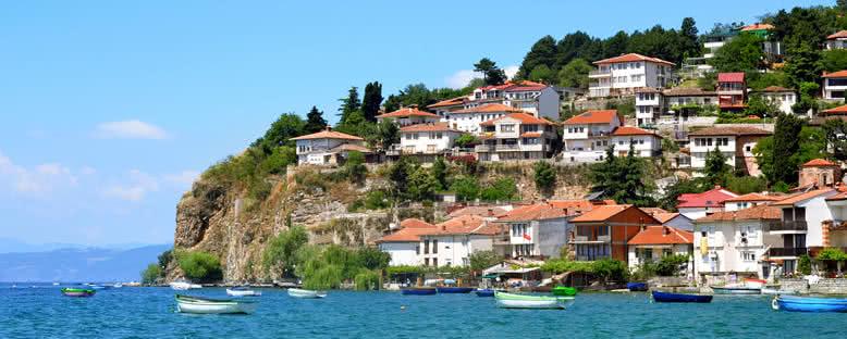 Şehir Manzarası  - Ohrid