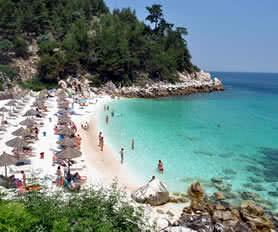 Thassos plaj