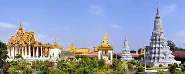 Kraliyet Sarayı ve Tapınak - Phnom Penh