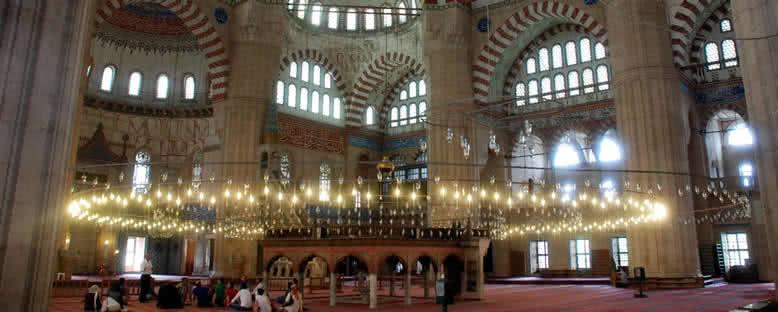 Selimiye Camii  İçi - Edirne