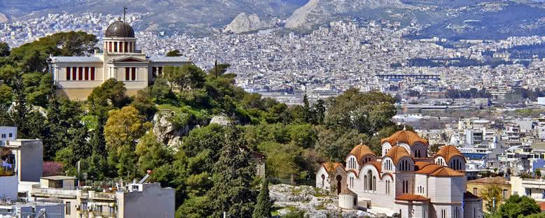 Şehir Manzarası - Atina