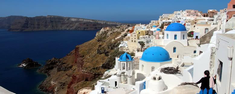 Ada Manzarası - Santorini