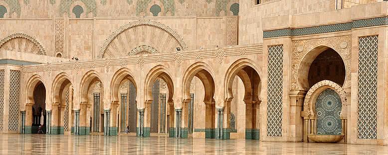 Kral Hassan II Camii'nin İçi - Casablanca