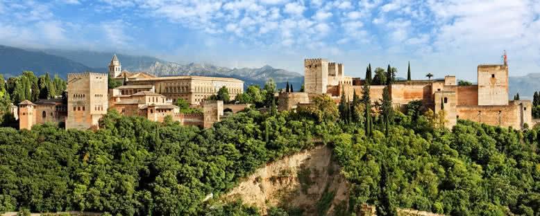 Elhamra Sarayı Manzarası - Granada