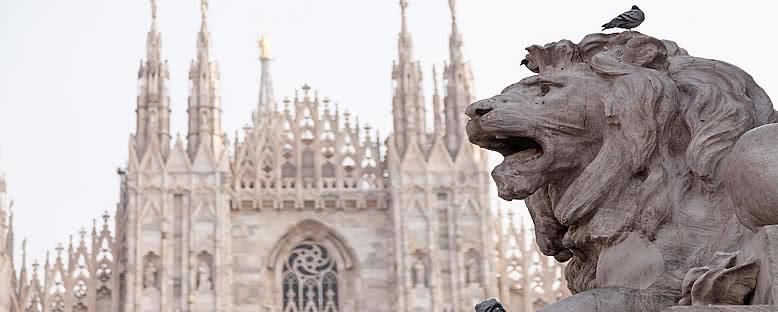 Heykel ve Katedral - Milano