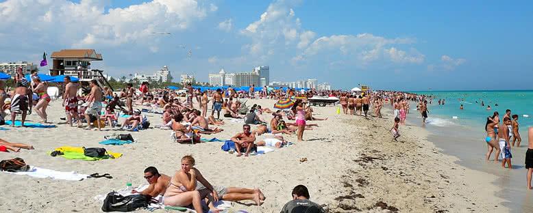 South Beach Kıyıları - Miami
