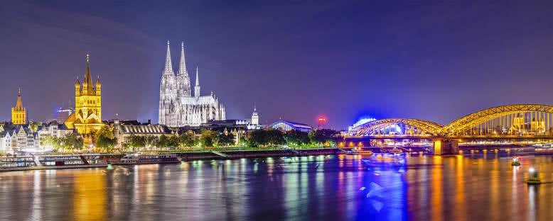 Gece Manzarası - Köln