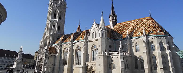 St. Mathias Katedrali - Budapeşte