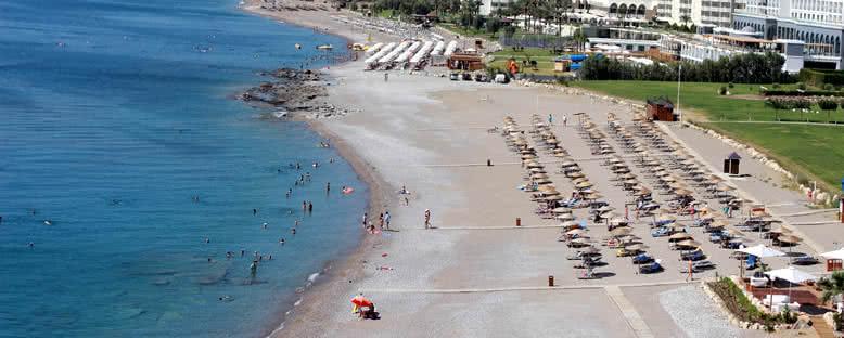 Faliraki Plajı - Rodos