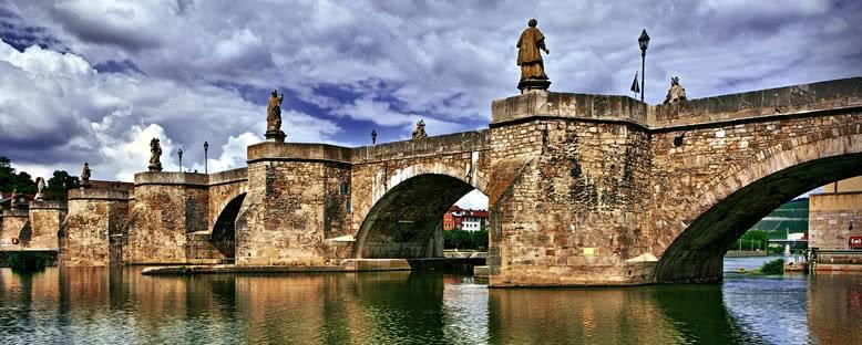 Tarihi Köprü - Würzburg