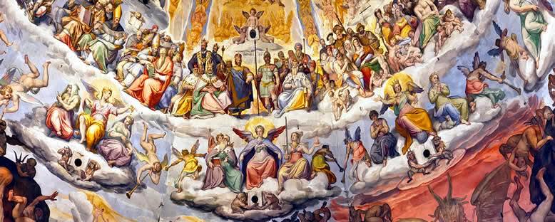 Katedral Freskleri - Floransa