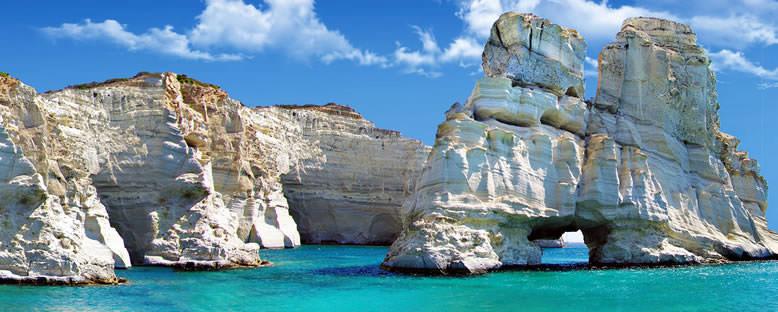 Ünlü Kayalıklar - Milos