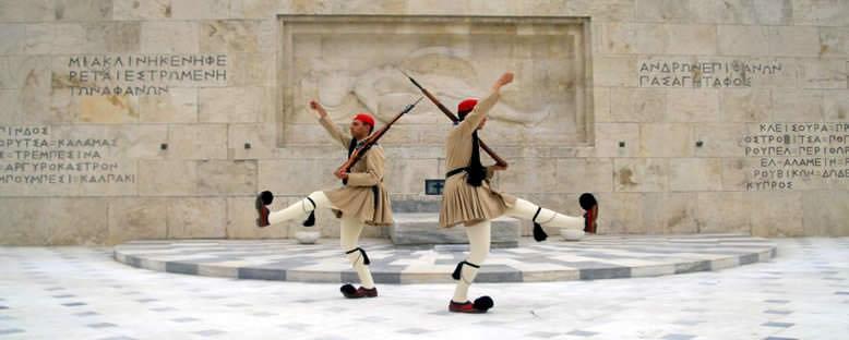 Nöbet Değiştiren Askerler - Atina