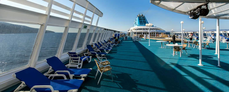 Sun Deck - Celestyal Cruise
