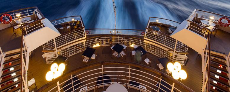 Açık Havada Yemek - Celestyal Cruise