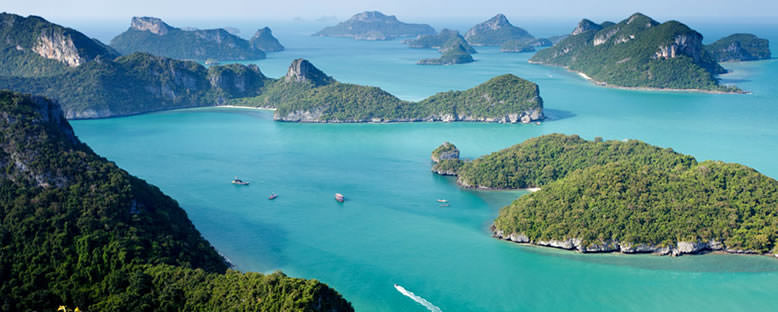 Mu Ko Ang Thong Deniz Parkı - Koh Samui