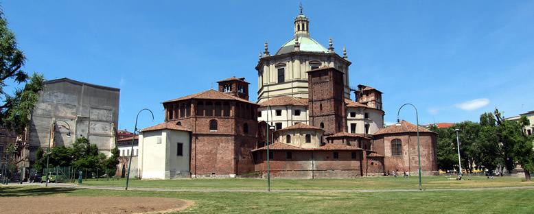 San Lorenzo Bazilikası - Milano
