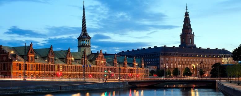 Christiansborg Sarayı'nda Akşam - Kopenhag