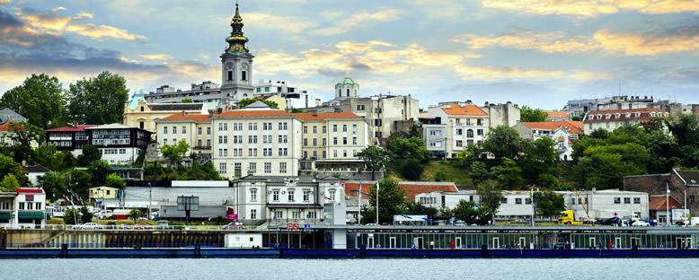 Tuna Nehri'nden Şehir Manzarası - Belgrad
