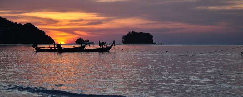Nai Yang'da Gün Batımı - Phuket