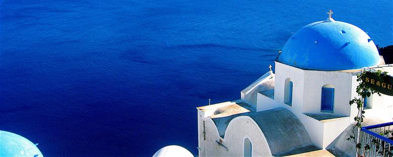 Ege Suları - Santorini
