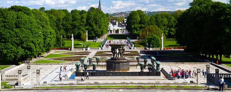 Vigeland Heykel Parkı - Oslo