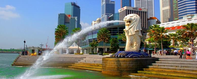 Merlion Anıtı - Singapur