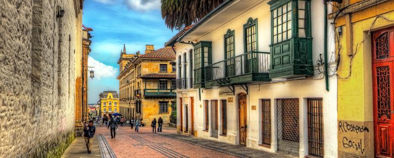 La Candelaria Mahallesi - Bogota
