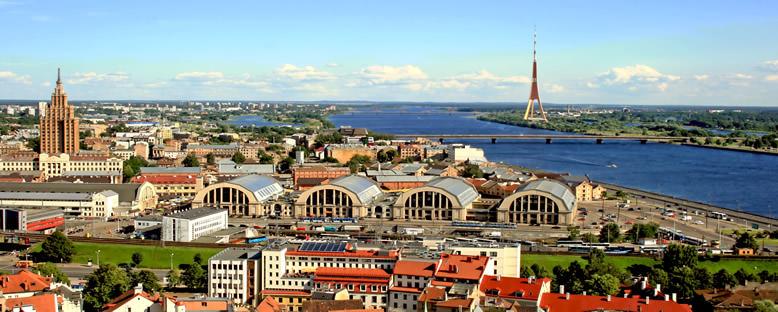Şehir Manzarası - Riga