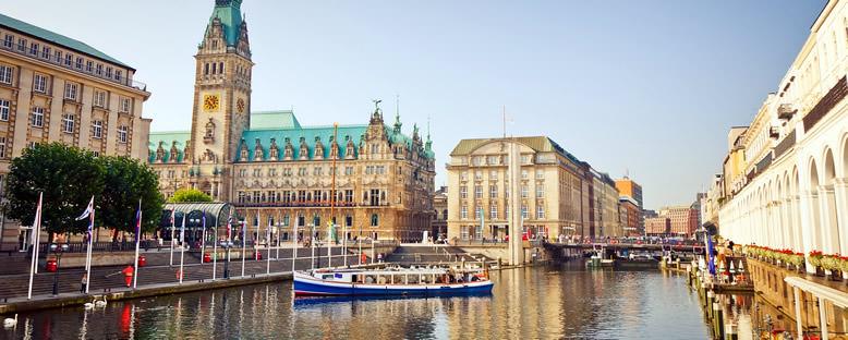 Belediye Binası - Hamburg