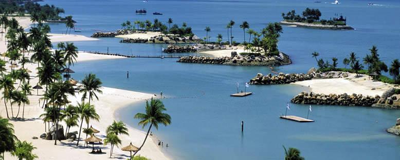 Sentosa Adası Plajları - Singapur