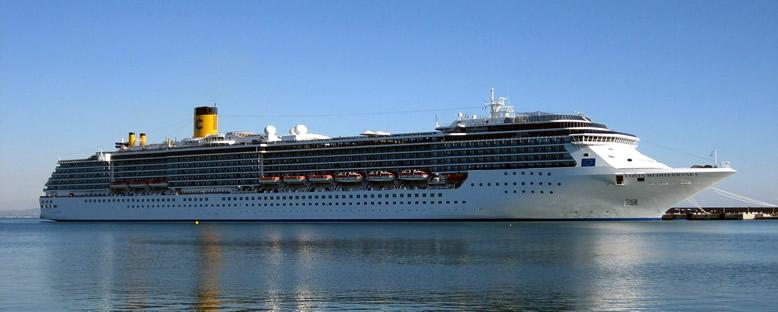 Costa Mediterranea Cruise Gemisi