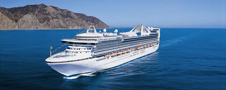 Princess Cruises ile Batı Amerika