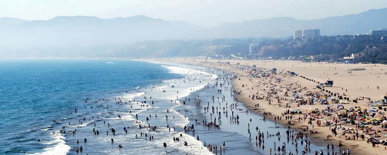 Santa Monica Kıyıları - Los Angeles