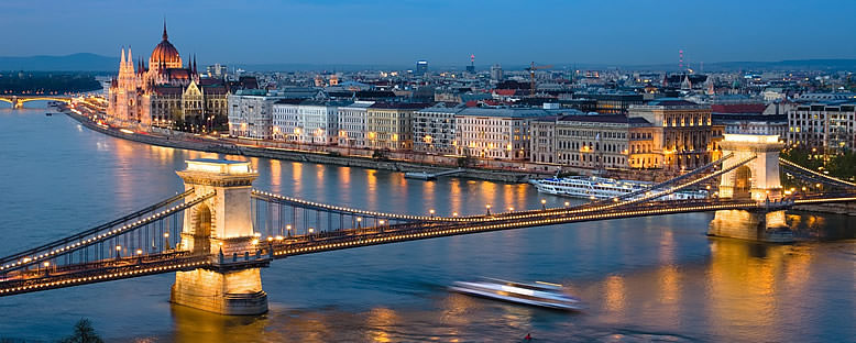 Akşam Manzarası - Budapeşte