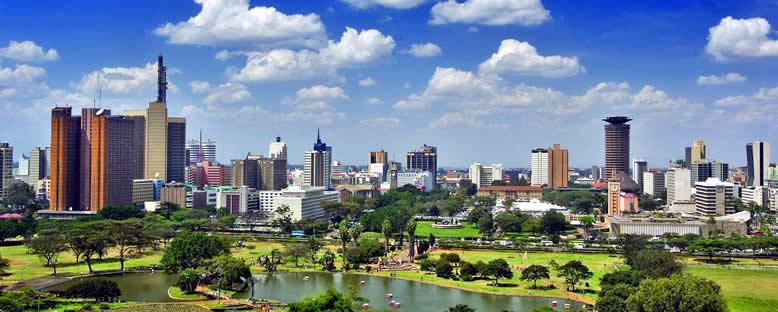 Kent Manzarası - Nairobi